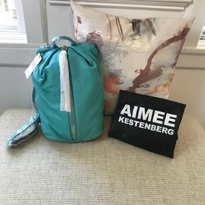 NEW Aimee Kestenberg Teal Tamitha Backpack